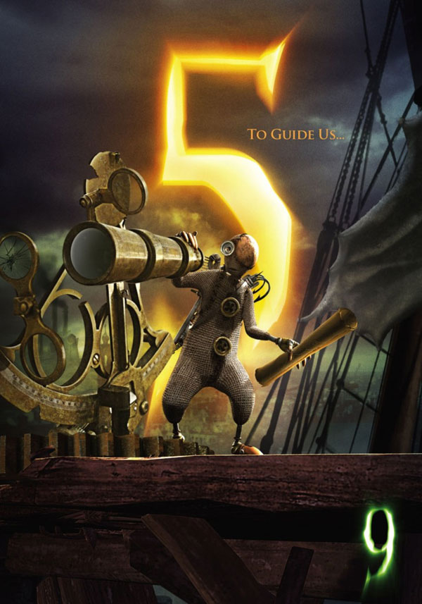 Девять - спродюсированный странным альянсом бартон 2013бекмамбетов рукодельный мультфильм про конец света