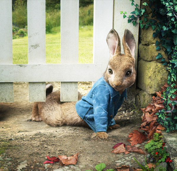 Кролик Питер, кадры
