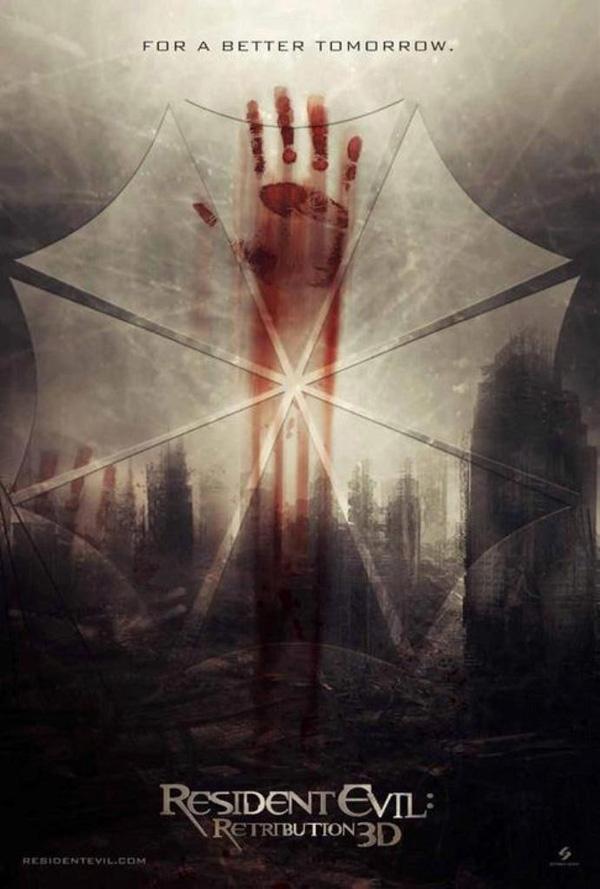 Обитель зла 5 возмездие постеры