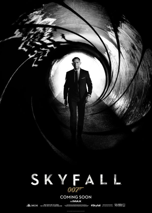 007: Координаты Скайфолл, Рухнувшие небеса/Skyfall Skyfall_poster2