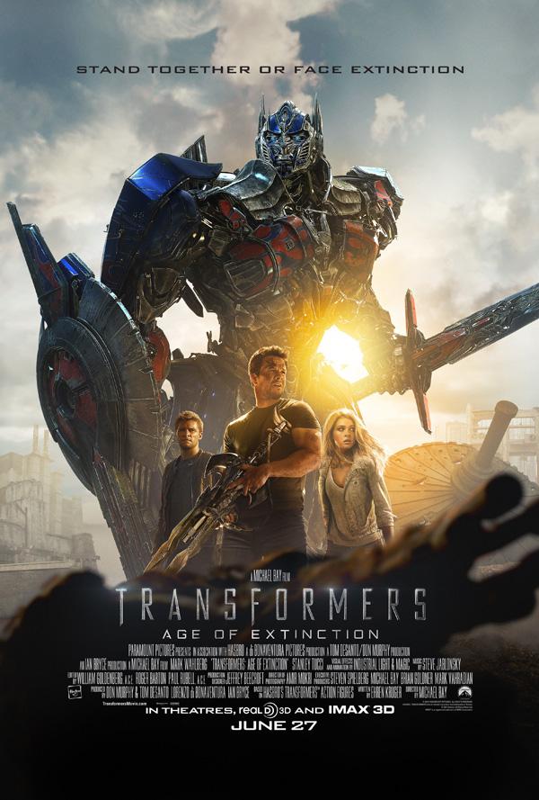 Трансформеры: Эпоха истребления, Трансформеры 4, постеры