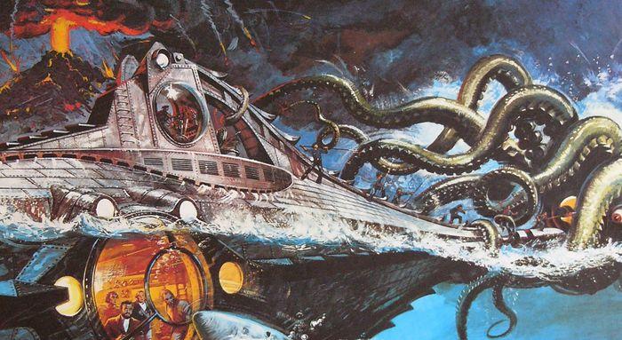 сочинения по роману 20000 лье под водой
