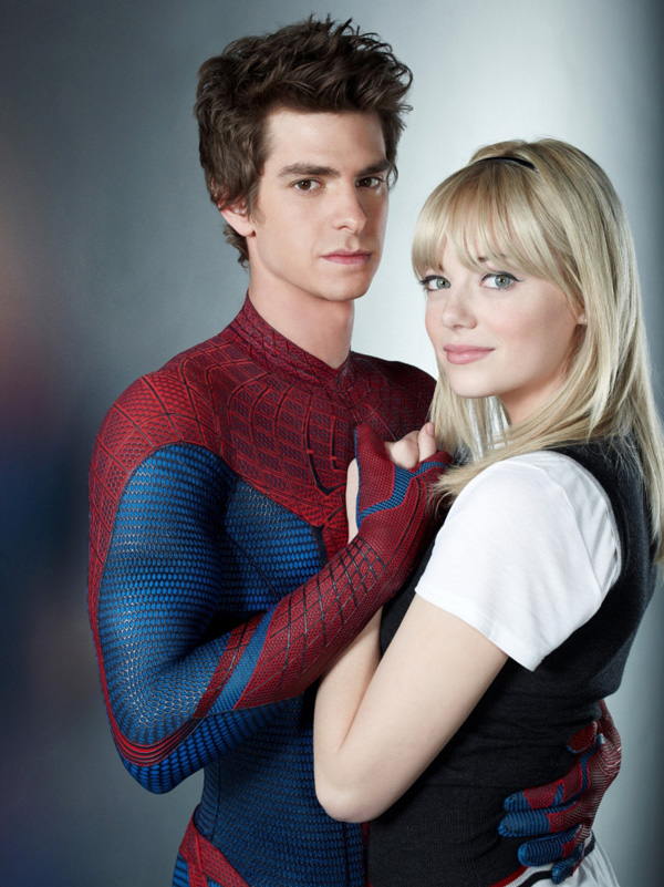 The amazing spider man gwen and peter